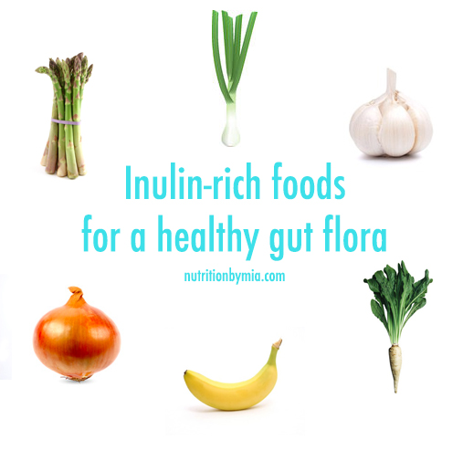 Inulin in foods