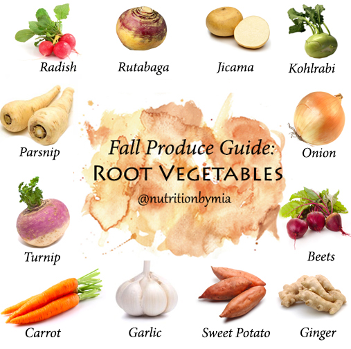 Fall Produce Guide: Root Vegetables - Nutrition By Mia
